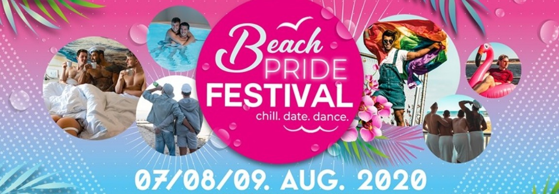 BEACH PRIDE FESTIVAL 7. – 09. August 2020