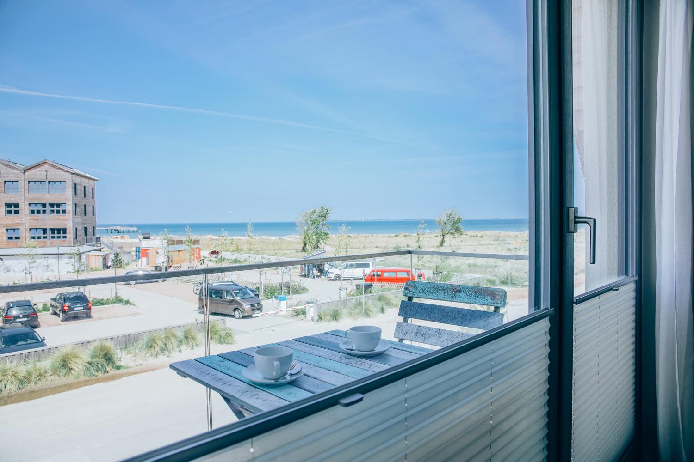 Meerblick vom Ferienhaus in Heiligenhafen